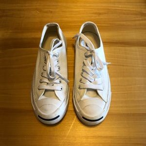 Jack Purcell White Converse Sneakers Sz 5.5